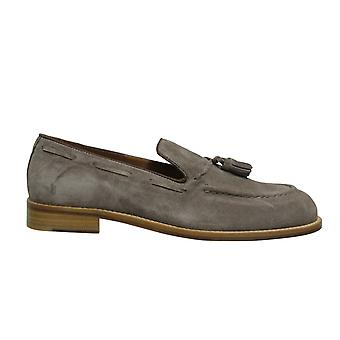 Hackett London FC Tassel Suede Leather Taupe Slip On Mens Loafers HMS20804 951