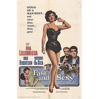 Schnell und Sexy Movie Poster drucken (27 x 40)