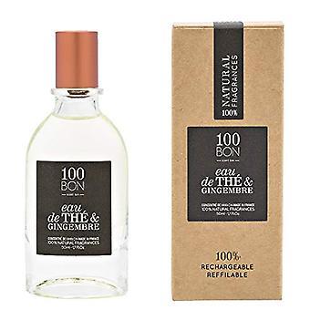 100BON Eau de The et Gingembre Refillable Eau de Parfum Concentrate 50ml Spray