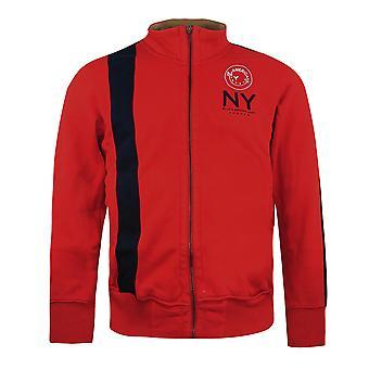Nike New York American Zip Up Track Top Red Mens Jumper 143504 656