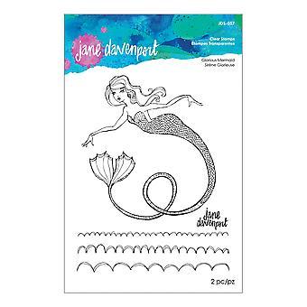 Spellbinders Glorious Mermaid Clear Stamps