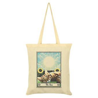 Tarot mortal El sol Felis Tote Bag