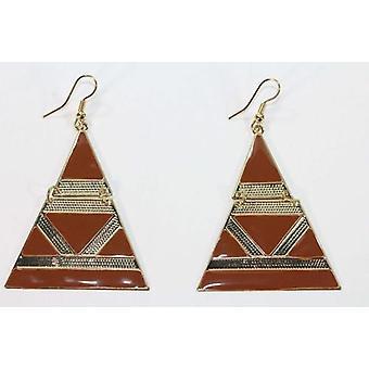 Egyptische stijl Emaille Oorbellen