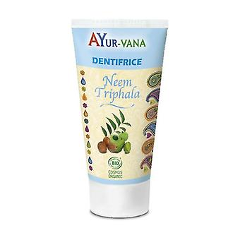 Organic Neem & Triphala Toothpaste 75 ml of gel