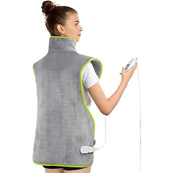 """Electric Heat Pads, ATMOKO XL Size 23.6""""x39.4"""" Electric Back Warmer for Shoulder Neck Back"""