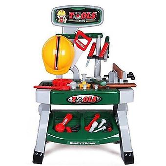 Deao wks-g workbench kit play set with variety of tool accessories included – gift for kids