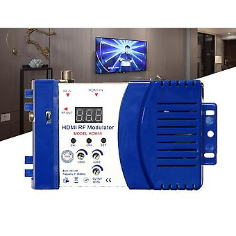Hdm68 Digital Rf Hdmi Modulator Av Til Rf Converter Vhf Uhf Pal/ntsc Standard