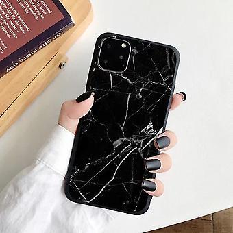 iPhone 12, 12 Pro & 12 פרו מקס מעטפת לבן שחור שיש