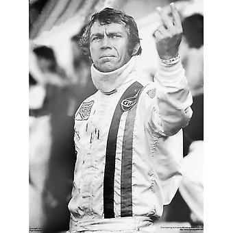 Larrini Steve Mcqueen Salutes Le Mans Poster