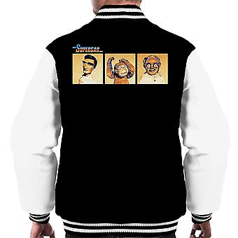 Supercar Mike Mitch And Professor Popkiss Men's Varsity Jacket