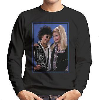Weird Science Hilly And Deb Men's Sweatshirt