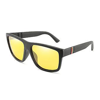 RUISIMO Vintage Güneş Gözlüğü - UV400 ve Erkekler ve Kadınlar için Polarize Filtre - Sarı