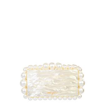 Cult Gaia Cl1140psivy Women's White Acrylic Clutch