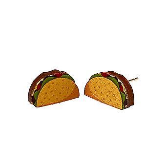 Taco Stud Earrings #3096