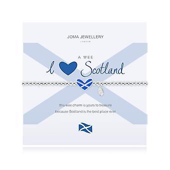 Joma Jewellery A Wee I 3 Scotland Bracelet 2548