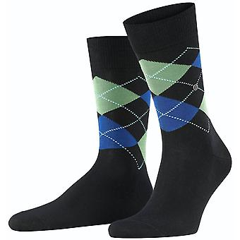 Burlington Manchester Socks - Black