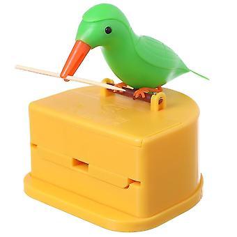 Automatický držiak na špáradlo, kontajner pšeničná slama fľaša box