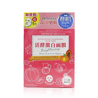 Active enzyme brightening facial mask 260712 8pcs