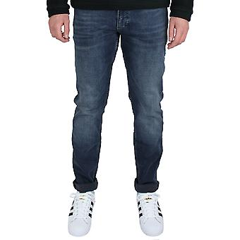 Calvin klein men's modern slim flex blue jeans