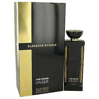 Elegance Animale De Lalique Eau De Parfum Spray 3.3 Oz (mujeres) V728-534597