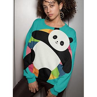Chillin panda sublimation sweatshirt