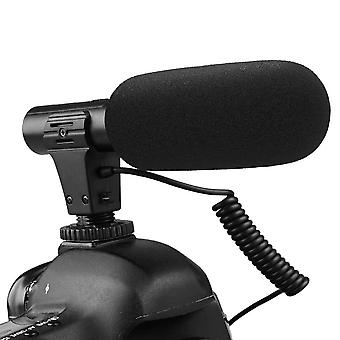 Samtian video microphone interview camera microphone recording microphone for canon nikon sony panas