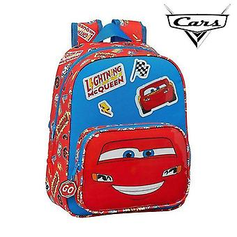Child bag cars mc queen blue red