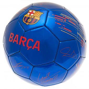Barcelona Fußball Signatur BL