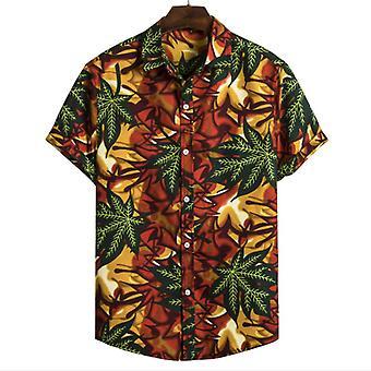 Men & apos;s الصيف القطن قميص