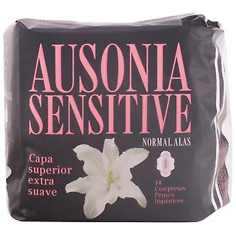 Ausonia Compresa Ausonia Sensitive Normal Alas 14 Unidades
