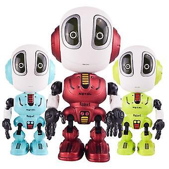 Älykäs diy ele elektroninen pää kosketusherkkä led valo kevyt seos robotti