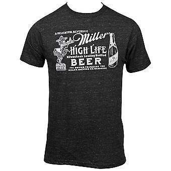 Miller High Life Girl In the Moon -merkki t-paita