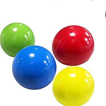 Selfree 2pcs Globbles fidget juguete sticky bolas raqueta estrés alivio pegajoso