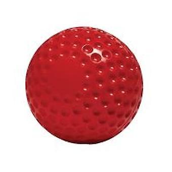 Gunn & Moore Bowling Machine Ball Hard Wearing PVC Training Cricket Ball 6 Pack-Red