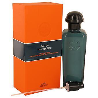 Eau De Narcisse Bleu by Hermes Cologne Spray (Unisex) 6.7 oz