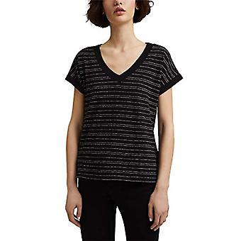 ESPRIT 041EO1K321 T-Shirt, 001/Black, Large Woman