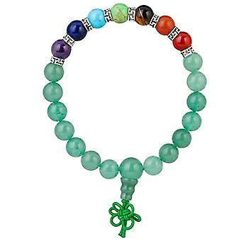 KYEYGWO 21 Mala bracelets with Chakra beads for men and women, unisex, with Reiki crystal stones and League, color: Ref. 0715444069260