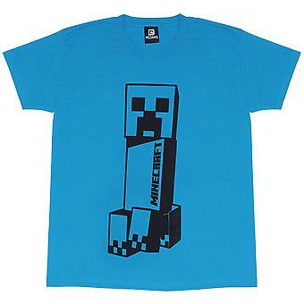 Minecraft Girls Leaning Tower Creeper T-Shirt