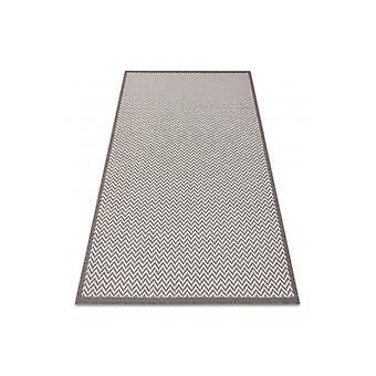 Rug SISAL BORDERO 2901 Flat woven ecru / taupe
