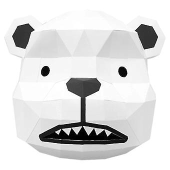 العنف الدب قناع الحزب اللباس أقنعة رأس الحيوان للبالغين هالوين Cosplay زي حزب الدعائم
