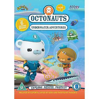Octonauts: Underwater Adventures DVD