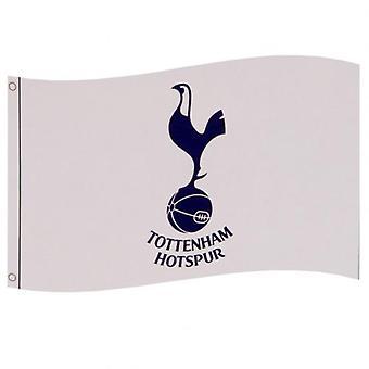 Tottenham Hotspur FC Flagga Vit