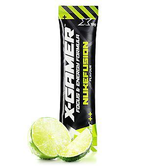 X-Gamer X-Shotz Nukefusion (Lime Flavoured) Energy Formula - 10g