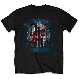 The Who - Target Texture Unisex Medium T-Shirt - Negro