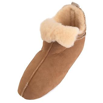 Shepherd Ladies Genuine Sheepskin Soft Sole Boot Slippers