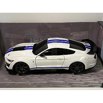 2020 Ford Mustang Shelby GT500 Fast Track White 1:18 Solido 1805904
