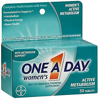 One-A-Day One A Day Women's Active Metabolism Multivitamin - Multimineral Tablets, 50 Tabs