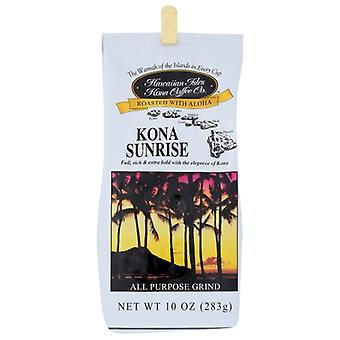 Hawaiian Kona Coffee Sunrise Grind, Case of 6 X 10 Oz