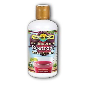 Dynamic Health Laboratories Organic Beet Root Juice, 32 oz