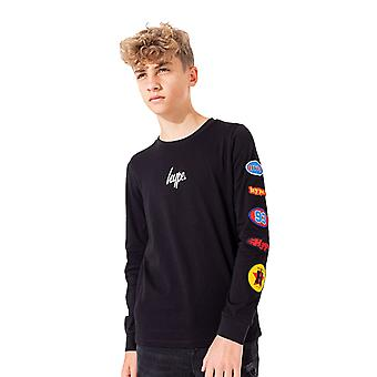 Hype Childrens/Kids American Oil Long Sleeve T-shirt